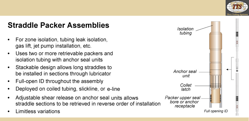 Straddle Packer Assemblies